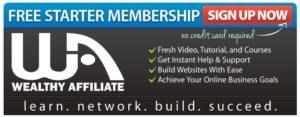 Free Starter Membership - Wealthy Affiliate