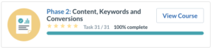 Content Keywords and Conversions
