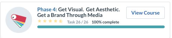 Get visual Get Aesthetic Get a brand through media