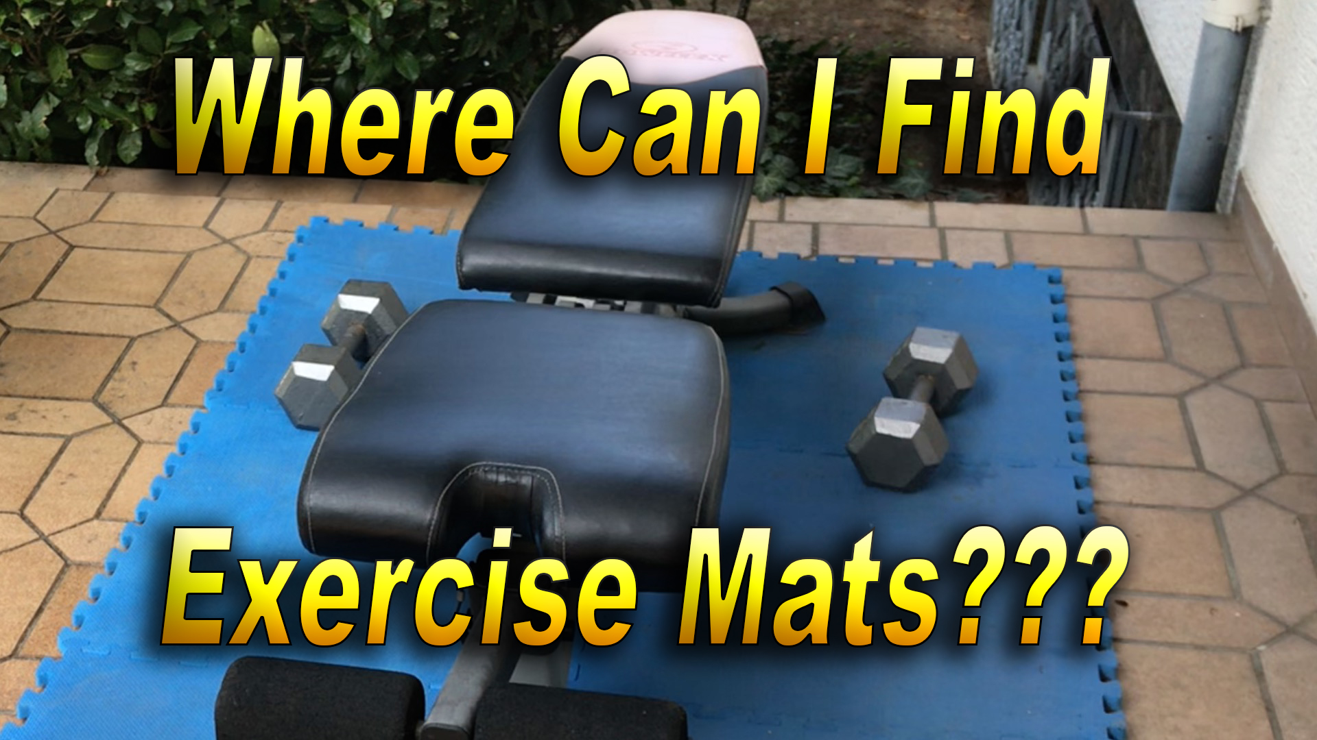 Where Can I Find Exercise Mats