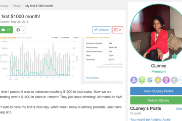 My First $1000 Month